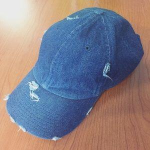 Kbethos Vintage Distressed Denim Hat